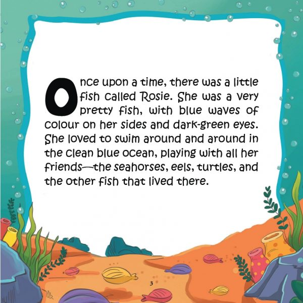 Rosie The Little Fish That Got Away - Book
