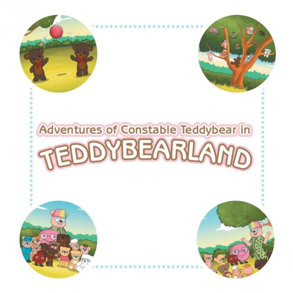 Adventures of Constable Teddybear in Teddybearland - Book