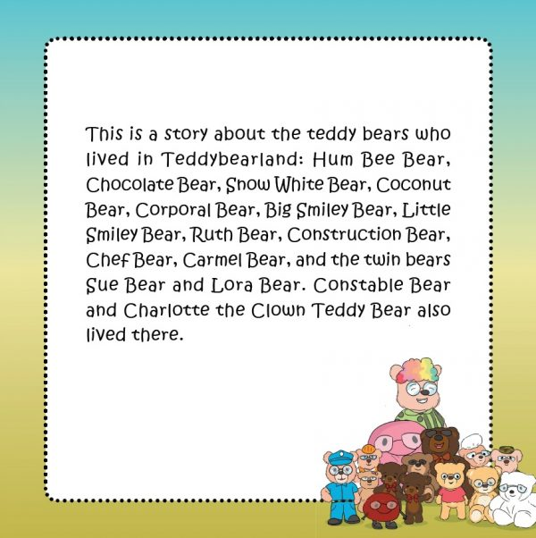 Adventures of Constable Teddybear in Teddybearland - Book
